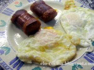 Las hipotecas están tan revueltas que antes teníamos huevos con chorizo pero ahora tenemos chorizos con huevos