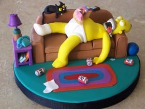 Hay que tener tanto estómago como Homer Simpson para digerir la jartá de pisos que han engullido los bancos