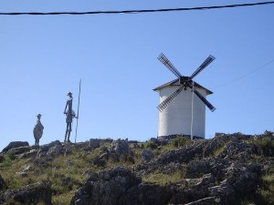 Con los bancos ya no se atreve ni Don Quijote