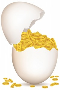 El banco que tiene clientes que pagan sus deudas ha encontrado la gallina de los huevos de oro
