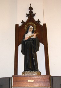 Santa Rita-Rita, lo que se da no se quita
