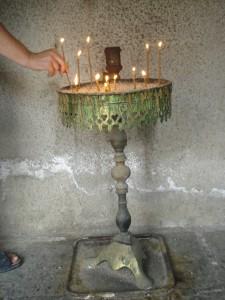 poner una vela